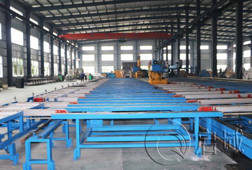 工业铝型材生产厂房
