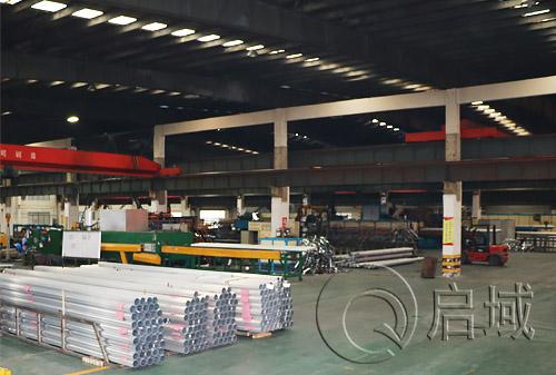铝型材生产加工车间