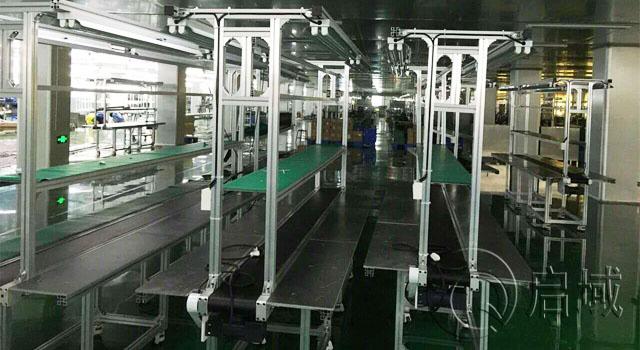 铝型材自动化流水线