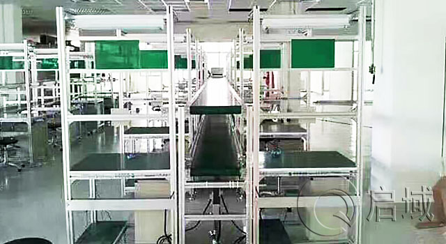 铝型材自动化产品操作台