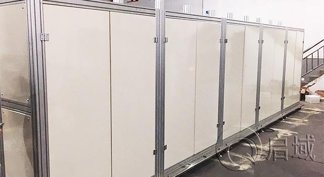 工业铝型材设备防护罩