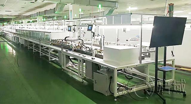 工业铝型材自动化流水线