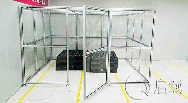 铝型材防护罩/铝型材防护栏/铝型材围栏