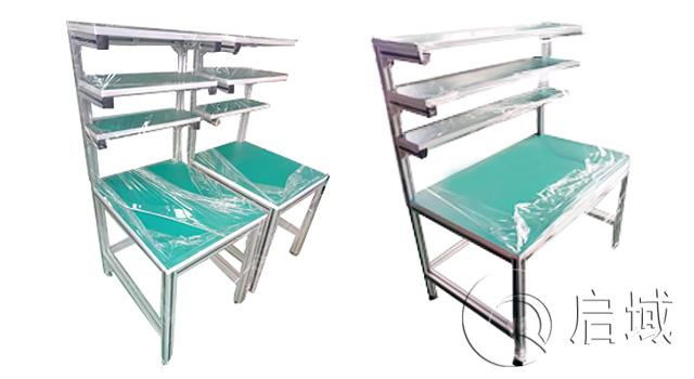 铝合金操作台/铝型材工作台/工业铝型材桌子