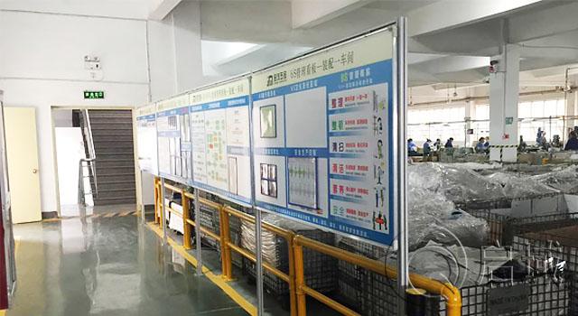 车间铝型材展板/铝型材信息栏/铝型材白板架