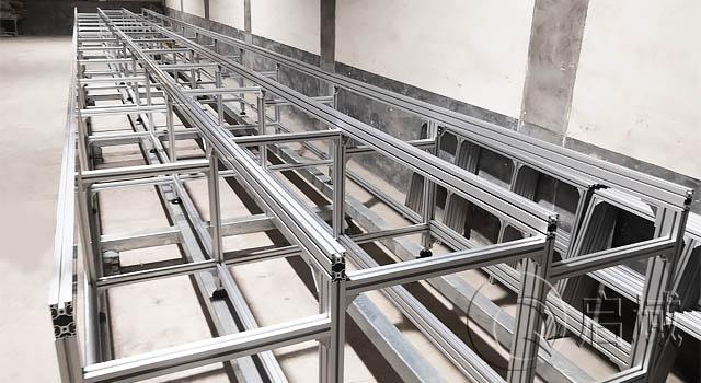 大型铝材设备框架/流水线框架