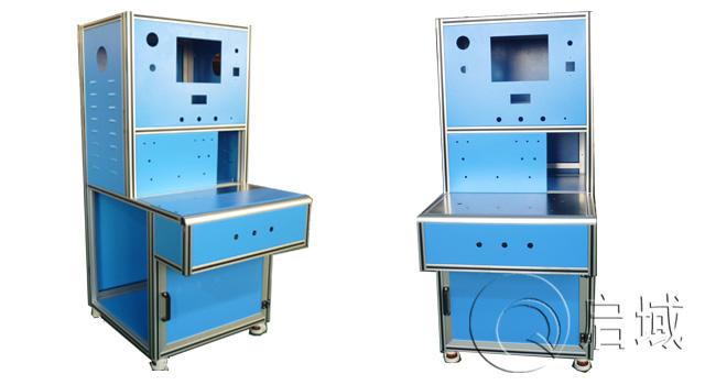 铝型材机柜用内六角螺栓直接连接牢固吗?