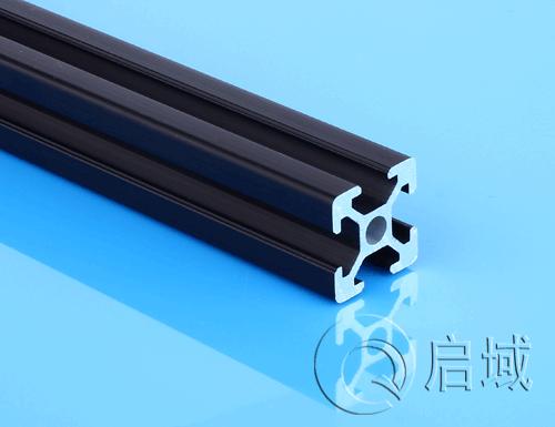 铝型材 QY-6-2020黑色