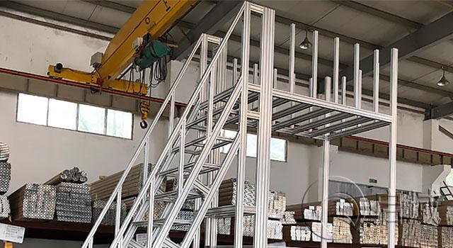铝型材检修平台