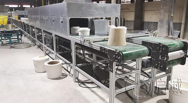 车间铝型材输送线