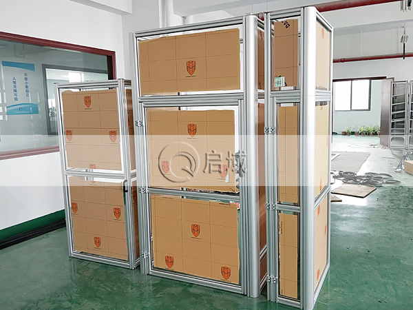 铝型材防护机罩