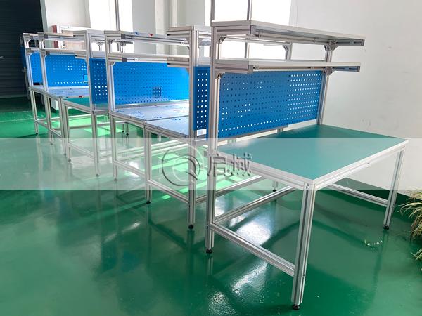 单人铝型材工作台