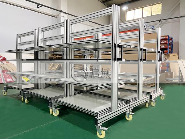 铝型材物料装配车